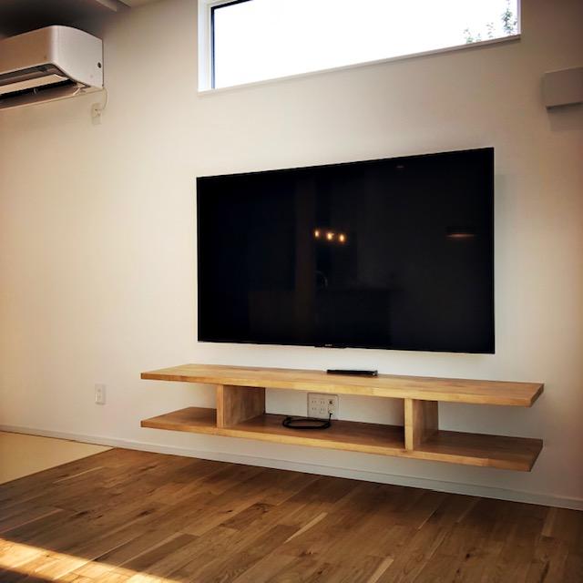 造り付のテレビボード