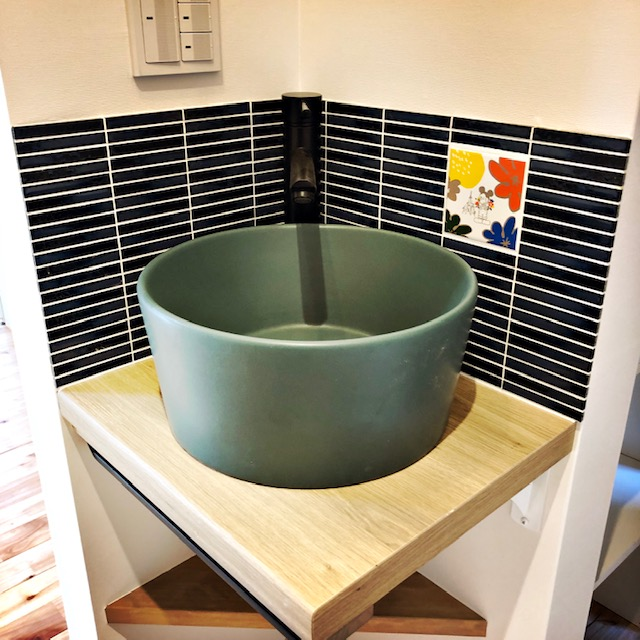 町田さま邸手洗い器